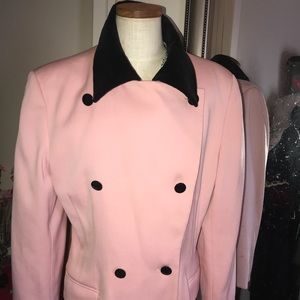 Gorgeous vintage pink and velvet Escada